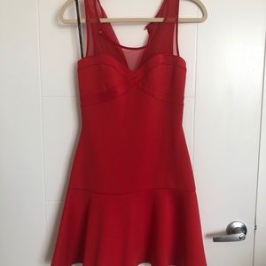 Guess fit and flare mini dress